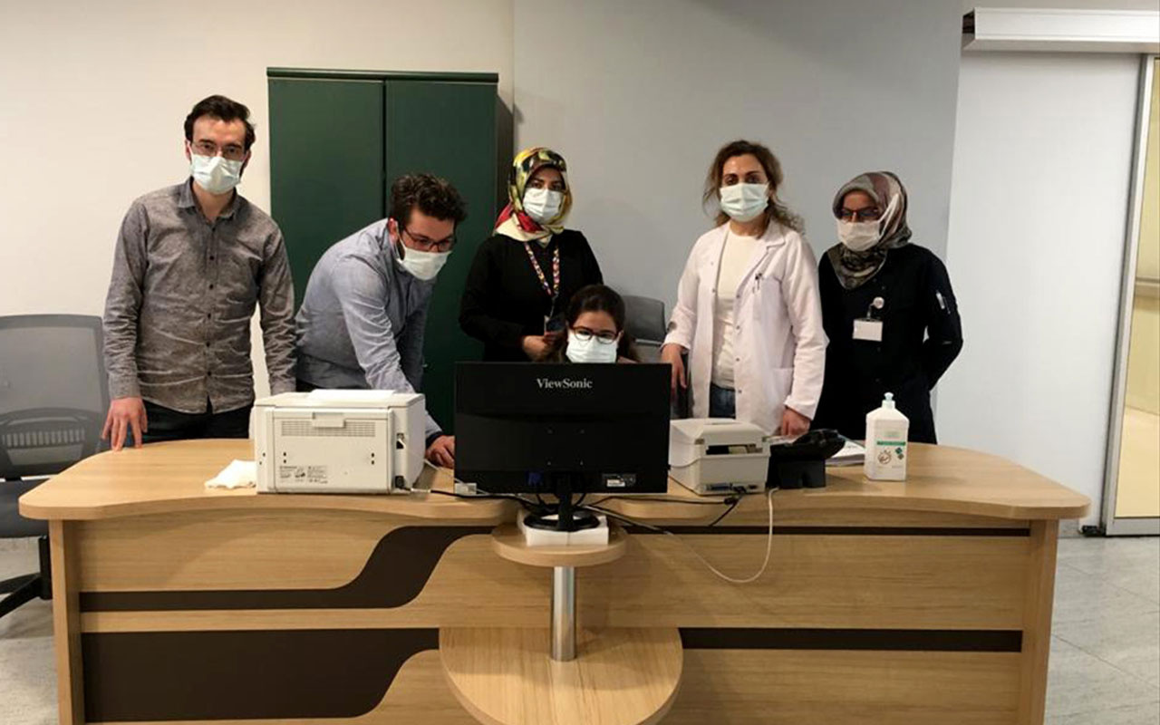 Erzurum Şehir Hastanesinde yeni uygulama Evlerine gitmeden kimliği çıkartılıyor