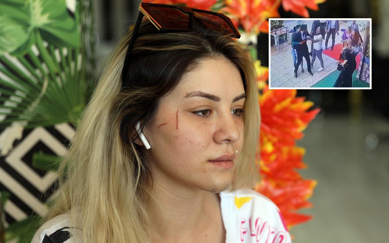 Gaziantep'te gelin başı ücretini çok bulan damat ve yakınları kuaföre saldırdı