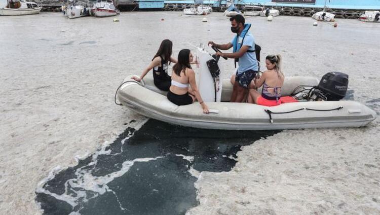Tatilcilerde Marmara'da müsilaj paniği! Rezervasyonlar bir bir iptal ediliyor