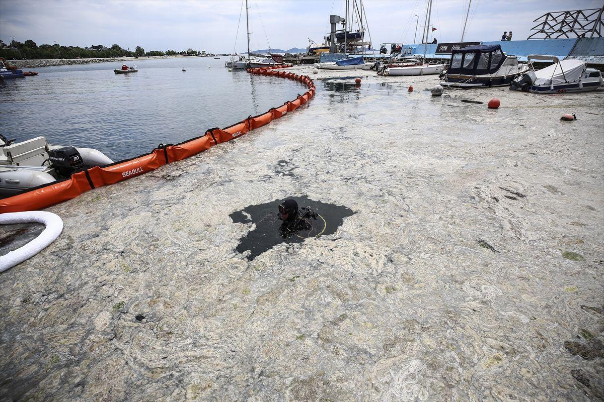 İstanbul'da müsilaj seferberliği başladı! Marmara Denizi'nin tamamı 'Koruma Alanı' ilan ediliyor