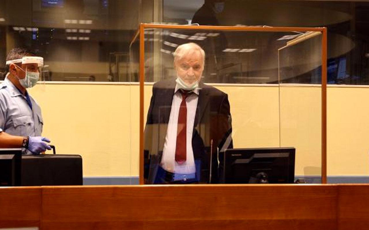 """""""Bosna Kasabı"""" Mladic'e ömür boyu hapis cezası"""