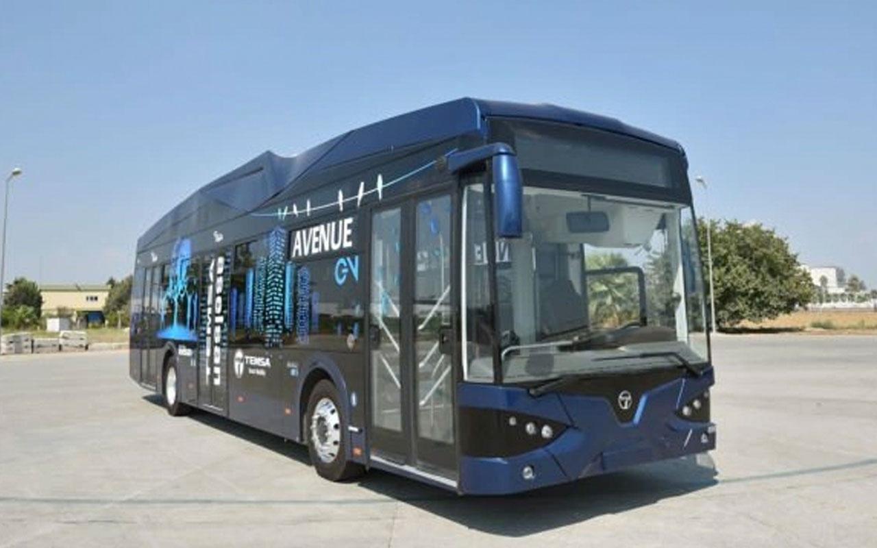 Samsun'a yerli elektrikli otobüsler geliyor! ASELSAN pillerini yapacak