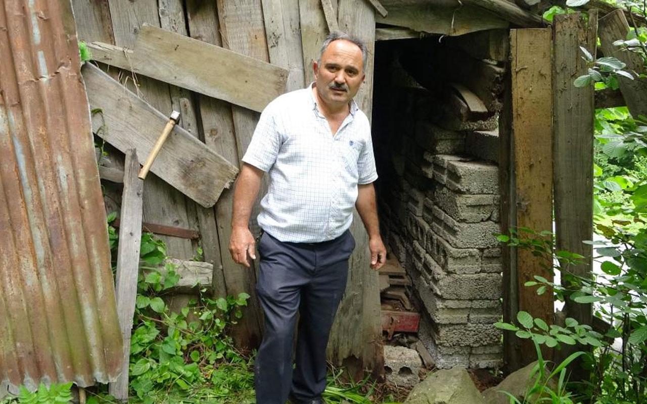 Trabzon'un Şalpazarı'nda 42 yıl önce garaja koydu şimdi bu hale geldi