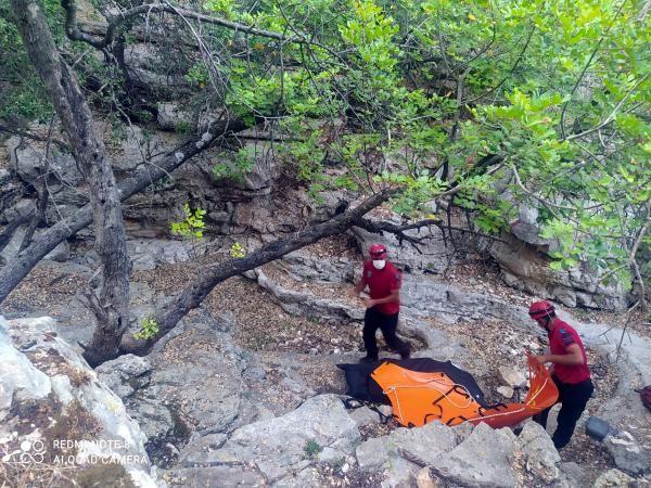 Bir babanın yıkıldığı an! Antalya'da dere yatağında bulunan oğlunun cesedini teşhis etti