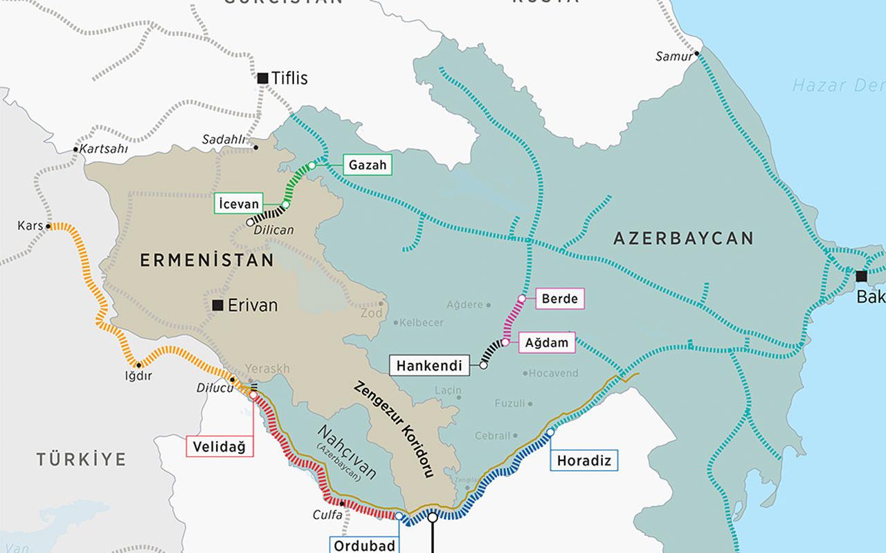 Azerbaycan askerleri sınırı geçerek mayın döşemek isteyen Ermenistan askerini yakaladı