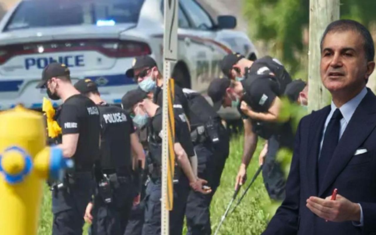 AK Partili Ömer Çelik'ten Kanada'da Müslümanlara saldırıya sert tepki