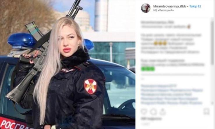 Rusya'yı salladı! 12 finalist kadın gardiyanın pozları bomba etkisi yarattı