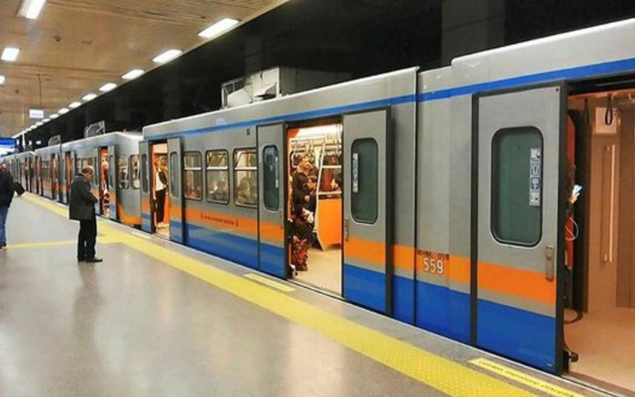 Yenikapı-Atatürk Havalimanı ve Yenikapı-Kirazlı arasında metro seferleri durduruldu