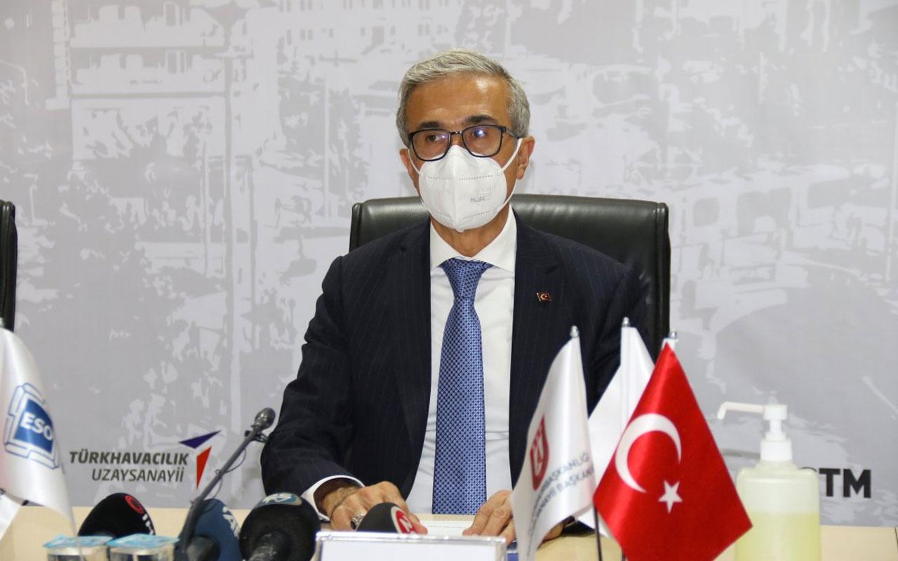 İsmail Demir'den savunma sanayine ilişkin önemli açıklamalar