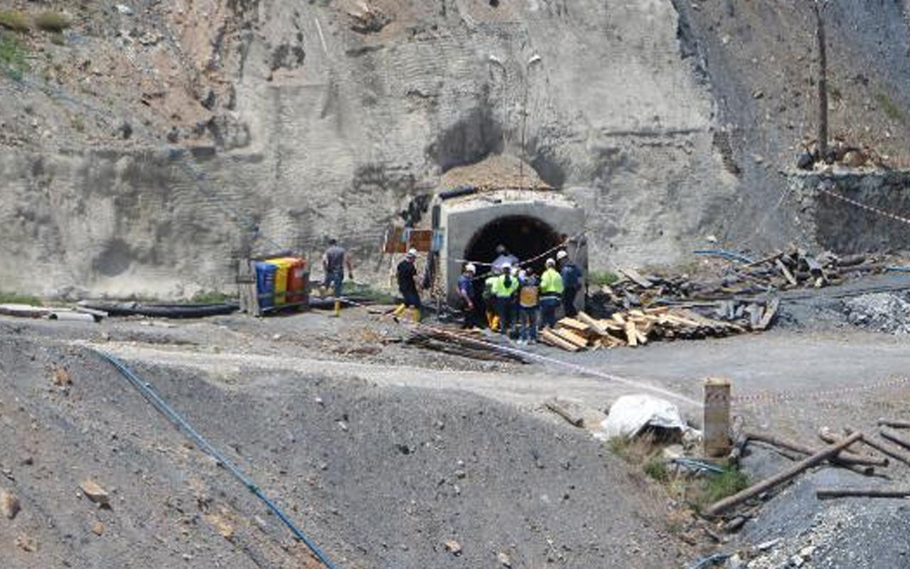 Tokat'ta maden ocağında göçük meydana geldi: 1 ölü