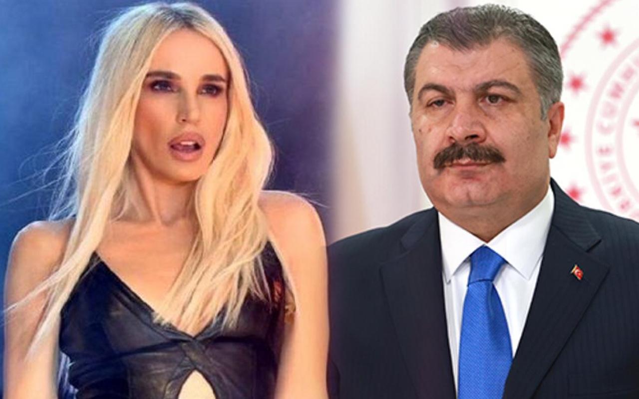 Fahrettin Koca duyurdu Gülşen soluğu hastanede aldı: İnanıyorum ki...