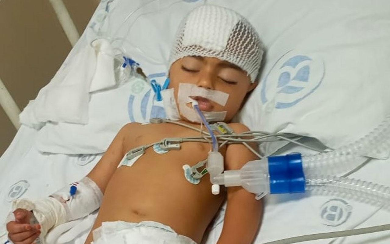 Adana'da Ülker ailesi misafirliğe gelmişti 2 yaşında felç oldu