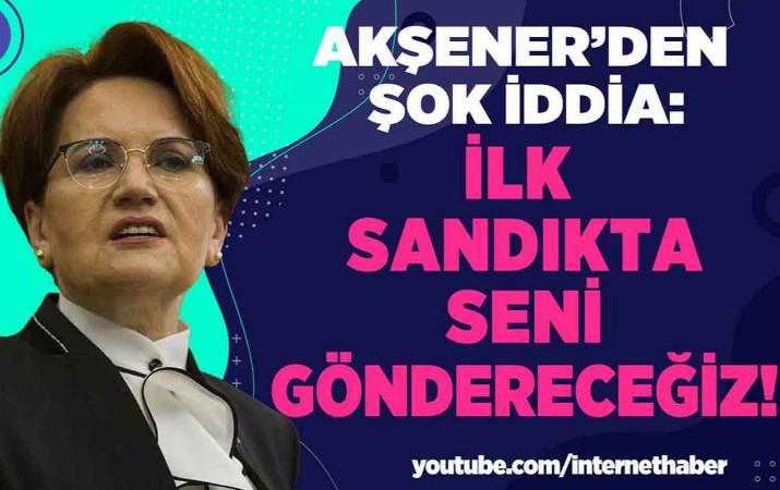 Akşener Erdoğan'ı hedef aldı!