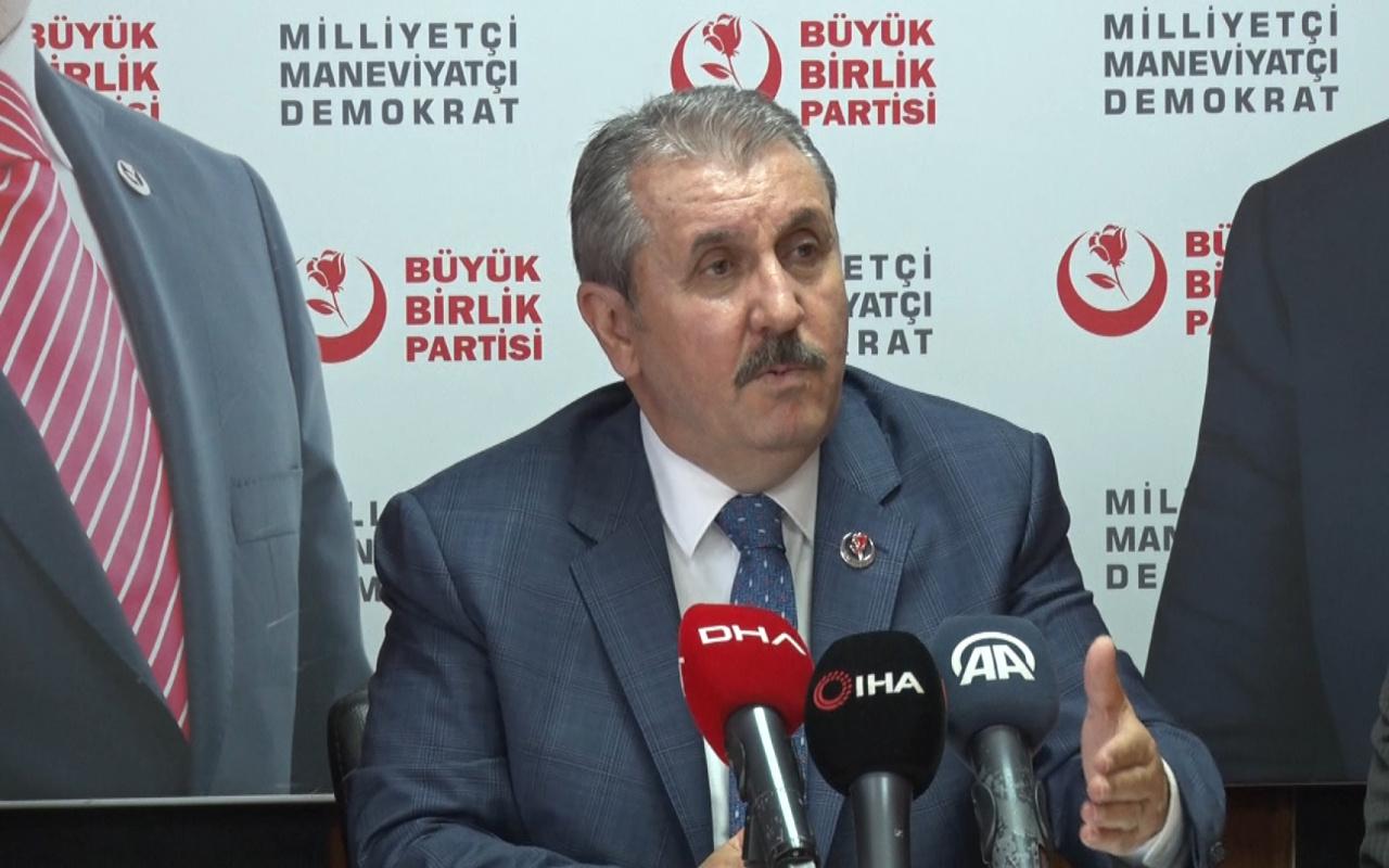 Mustafa Destici: Millet vicdanı HDP kapatılsın diyor
