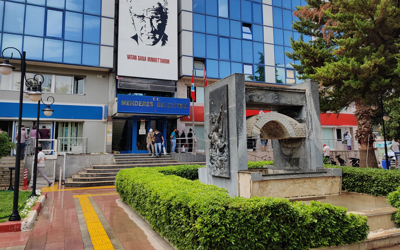 Menderes Belediyesi'nde rüşvet iddiası! Hukuk işleri müdürü gözaltına alındı