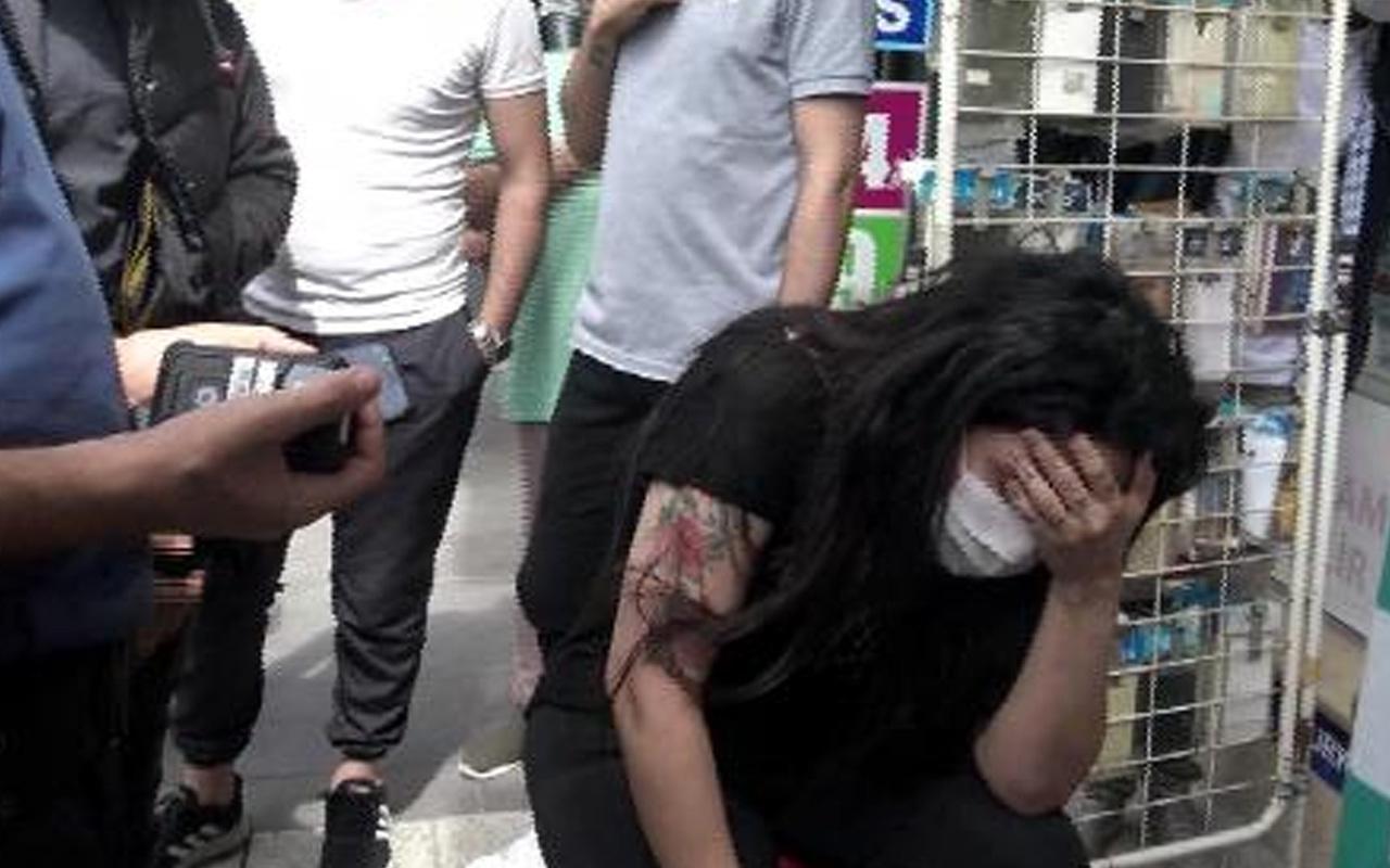 Avcılar'da Suriyeli şahıs birlikte yaşadığı kadını dövdü sonra da 5'inci kattan atlamak istedi