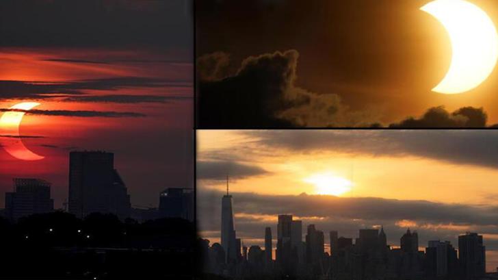 Tüm dünya 'Ateş Çemberi'ni merakla izliyor! NASA: Güneş tutulması başladı