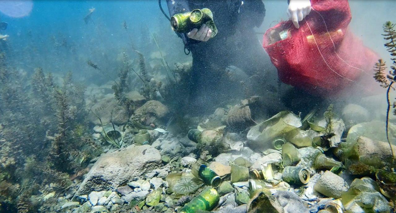 Antalya'da içme suyuna çöp karıştı görüntüler felaket
