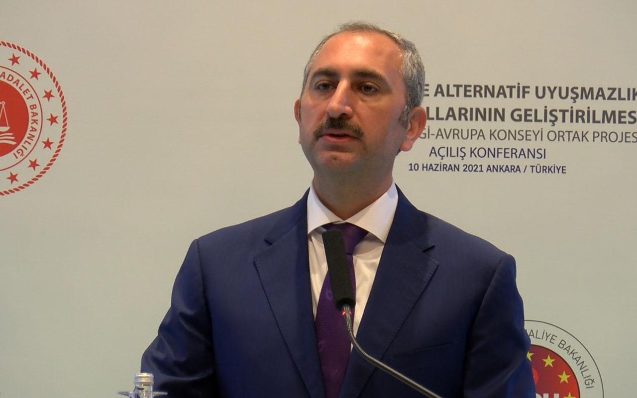 Bakan Gül açıkladı: Uzlaştırmacılık için hukuk fakültesi şartı