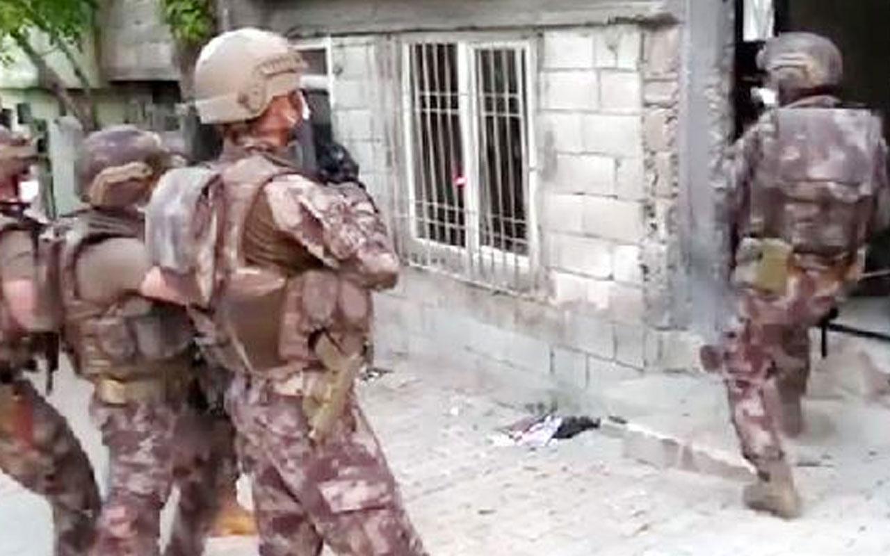Gaziantep'te, 657 polisle uyuşturucu operasyonunda 24 gözaltı