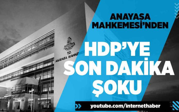 HDP'ye son dakika şoku!