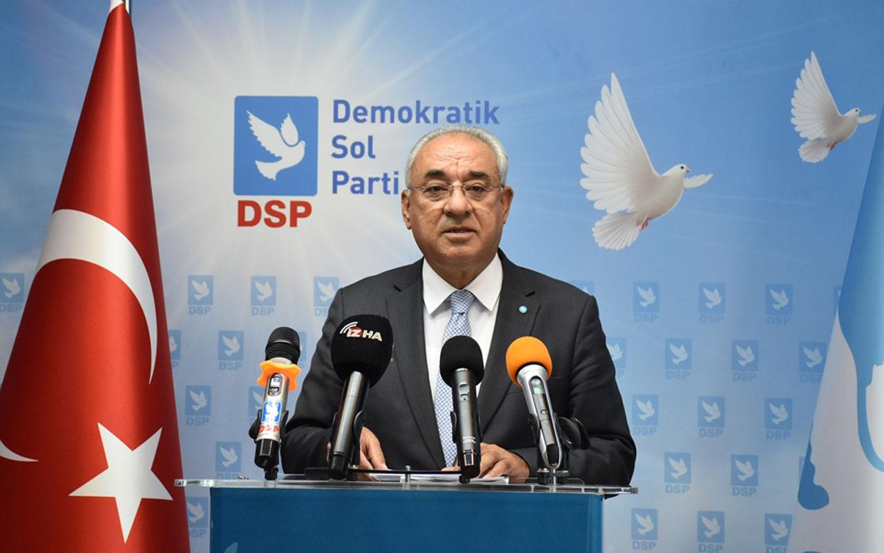 DSP Genel Başkanı Önder Aksakal: HDP'ye hazine yardımın kesilmesi etkili sonuçlar yaratacaktır