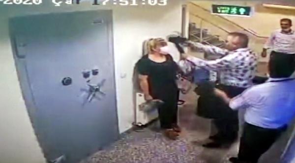 Kahramanmaraş'ta banka müdürü çalışanın kafasına silah dayamıştı! Şaka yapmış!