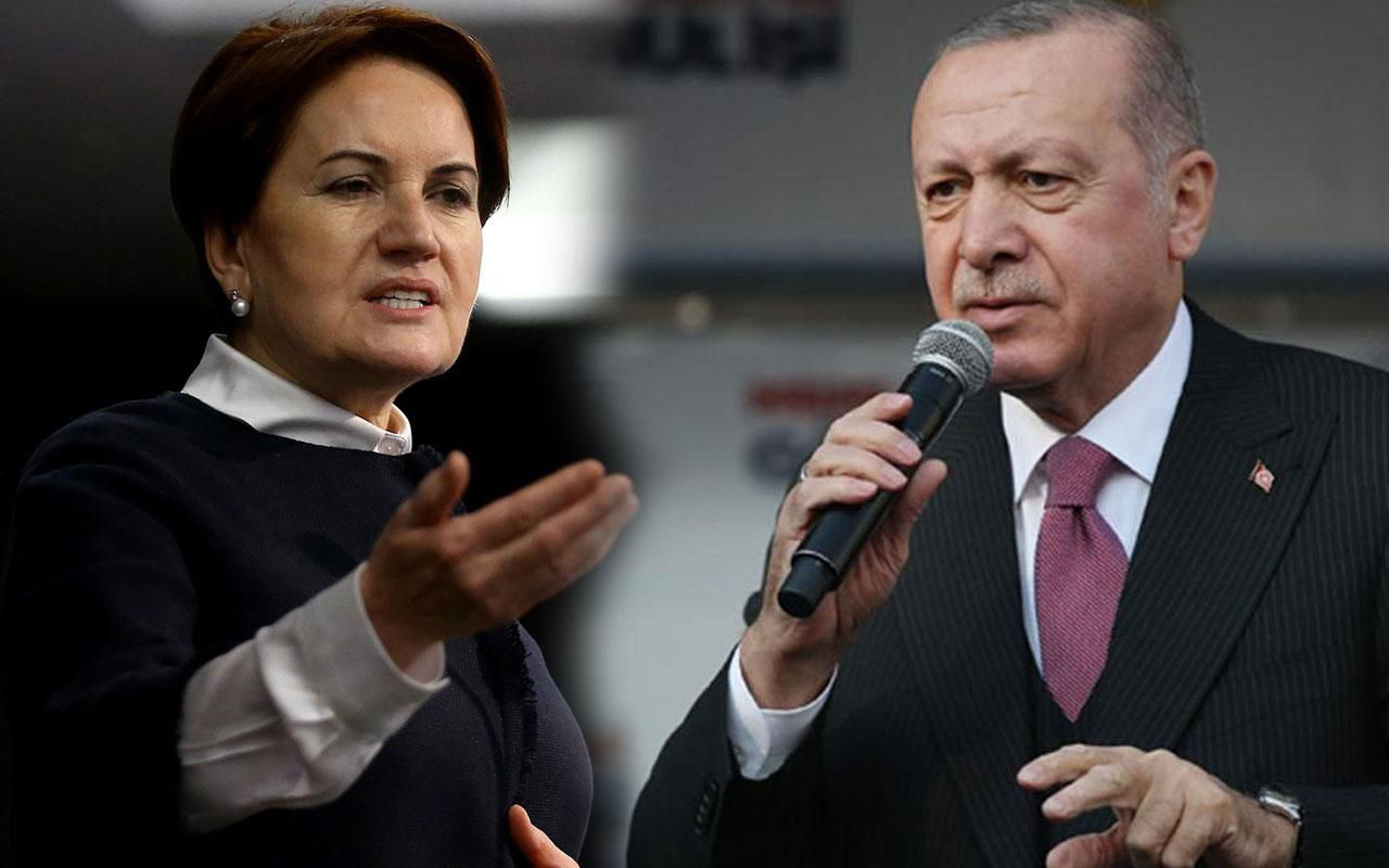 Akşener'den Erdoğan'a tepki: Hay hay muhterem kalk o sandalyeden
