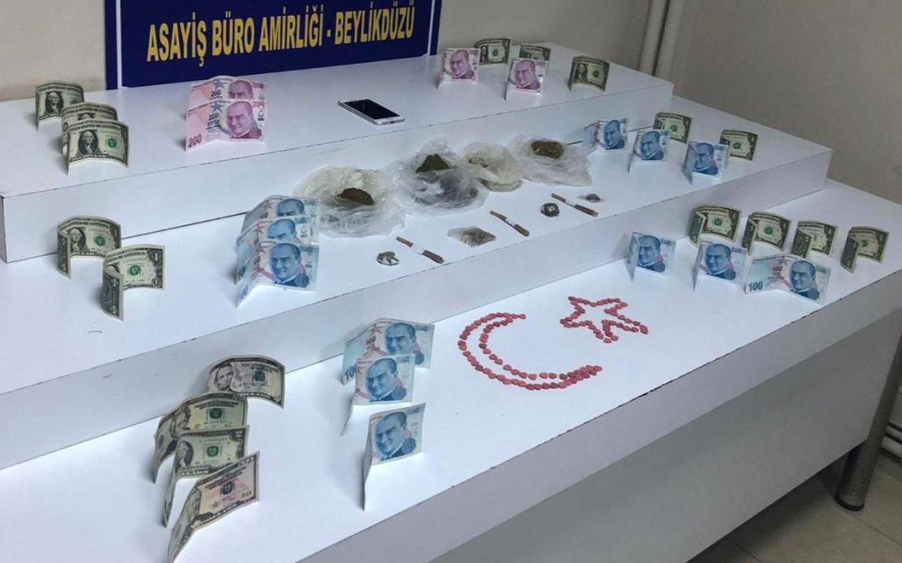 Beylikdüzü'nde uyuşturucu satan İranlıya gözaltı