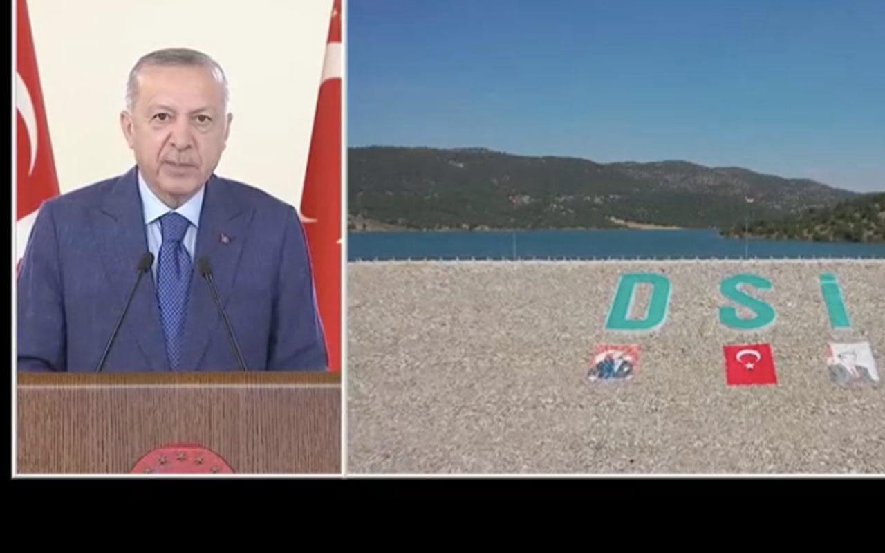 Erdoğan Afrin Barajı açılışında konuştu