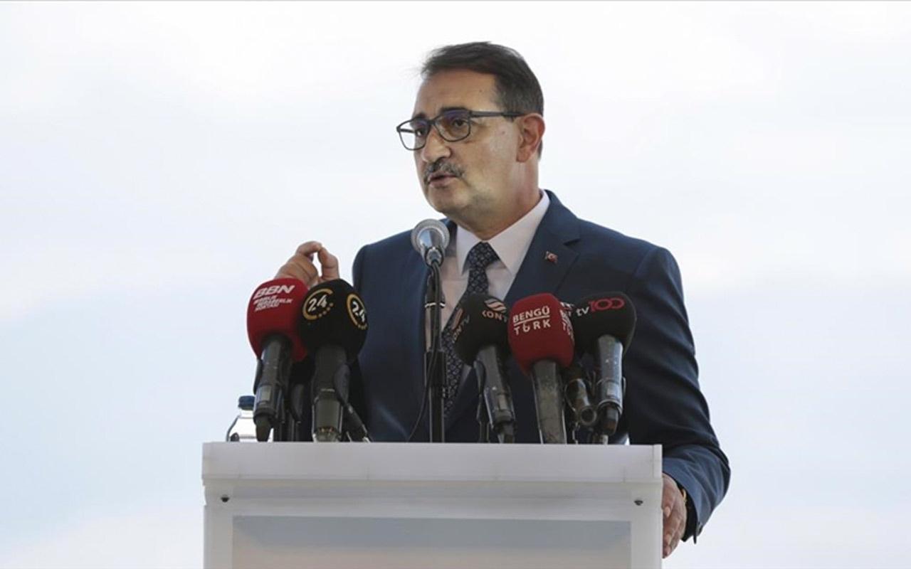 Güneş santralinde yeni hedefi Enerji ve Tabii Kaynaklar Bakanı Fatih Dönmez açıkladı