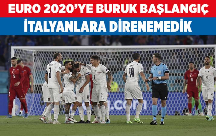 Türkiye İtalya EURO 2020 maçı golleri ve geniş özeti