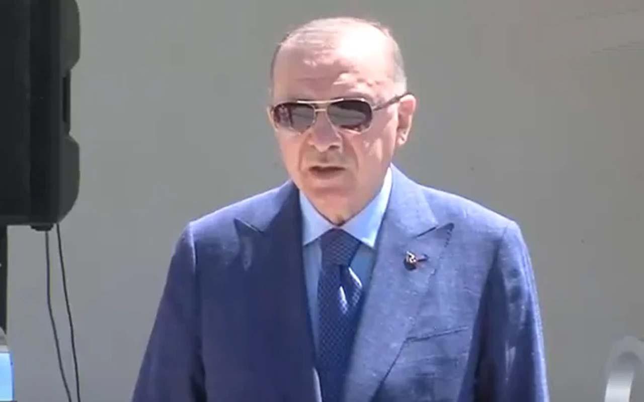 Cumhurbaşkanı Erdoğan'dan NATO Zirvesi açıklaması
