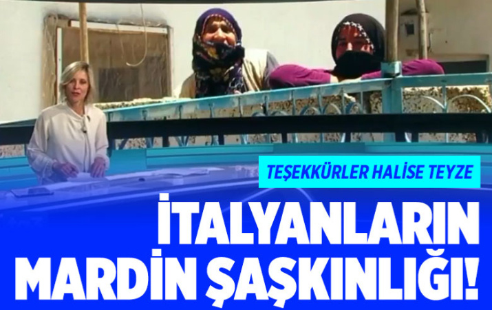 Mardin, İtalyanları şaşırttı! Bakan Koca paylaşıp teşekkür etti