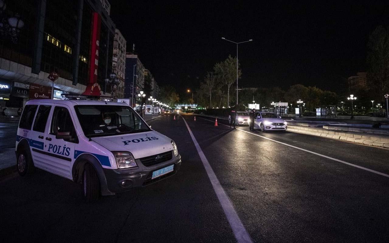Covid-19 sokağa çıkma kısıtlaması başladı! 31 saat sürecek yasağın detayları
