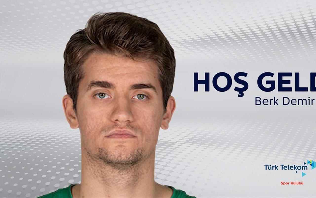 Türk Telekom Basketbol Takımı Darüşşafaka Tekfen'de oynayan Berk Demir'i transfer etti
