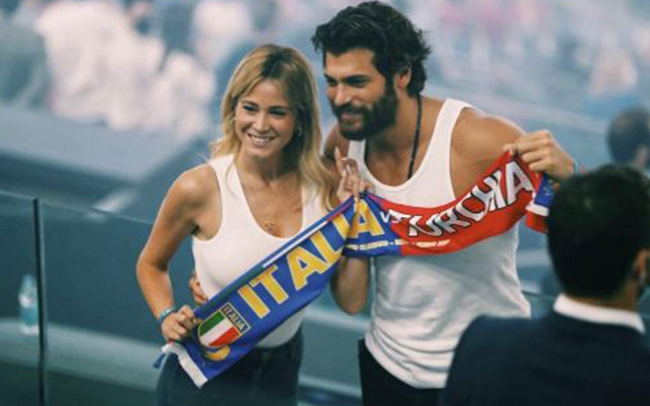 Türkiye-İtalya maçında Can Yaman'dan olay tepki!