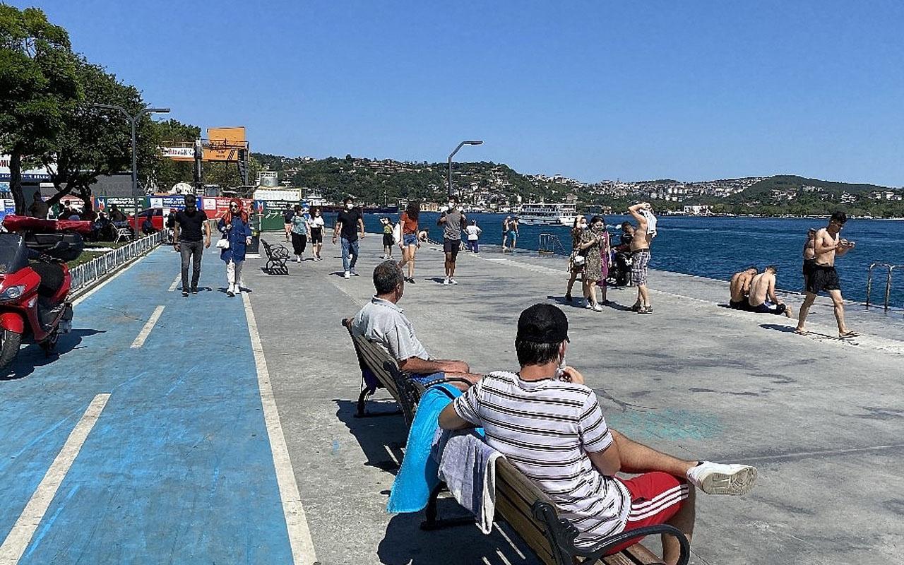 İstanbul'da yasak kalktı cumartesi trafiği arttı