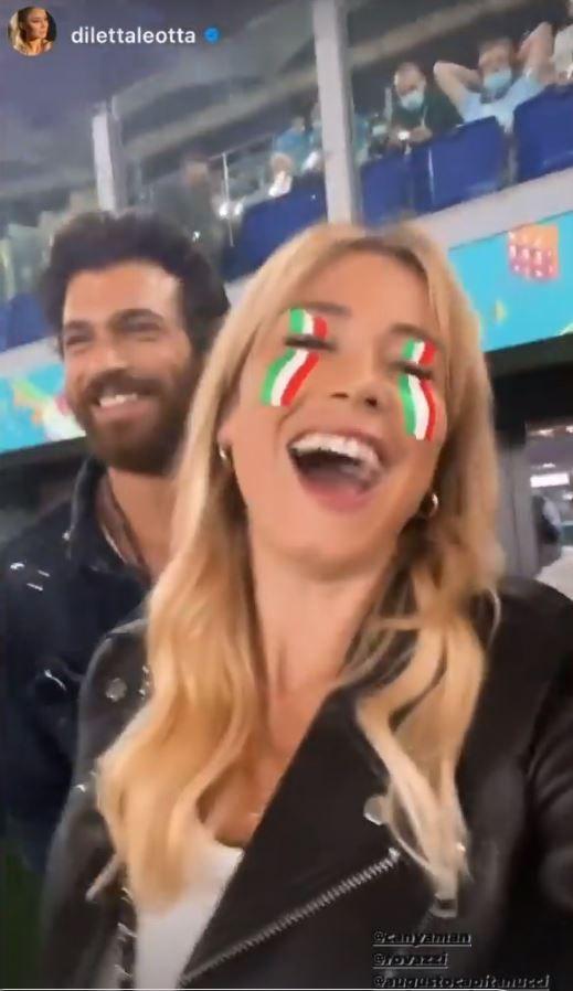 Can Yaman yüzünü gizledi ama İtalyan sevgilisi Diletta Leotta ifşa etti