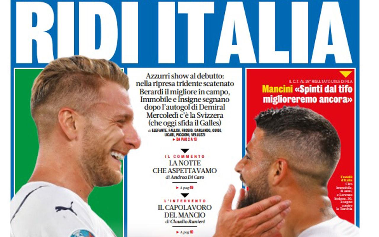 İtalya maçı hezimetini dış basın böyle gördü