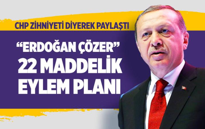 CHP zihniyetinin İstanbul'u getirdiği hal dedi Erdoğan'ın eylem planını paylaştı