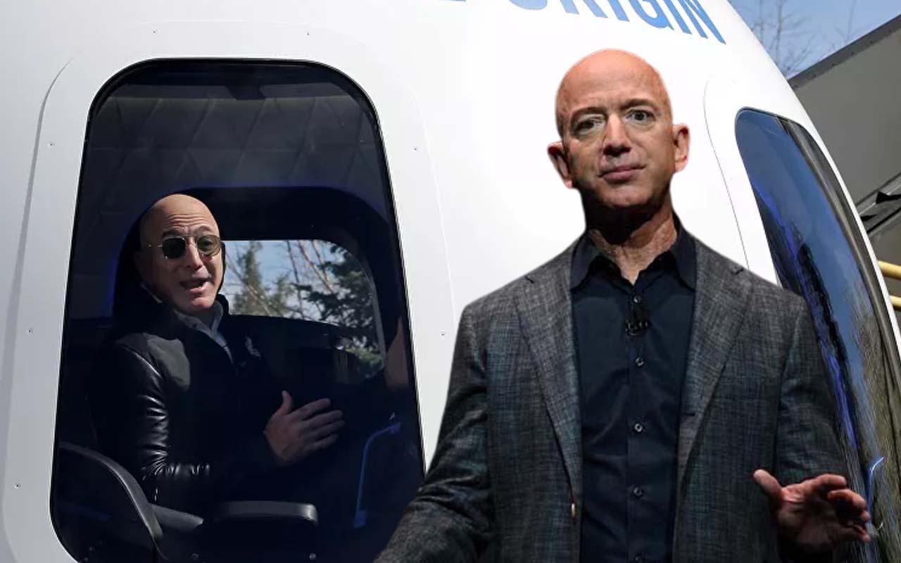 Jeff Bezos'un yanı doldu! Uzay yolculuğunda tek kişilik koltuk 28 milyon dolara satıldı