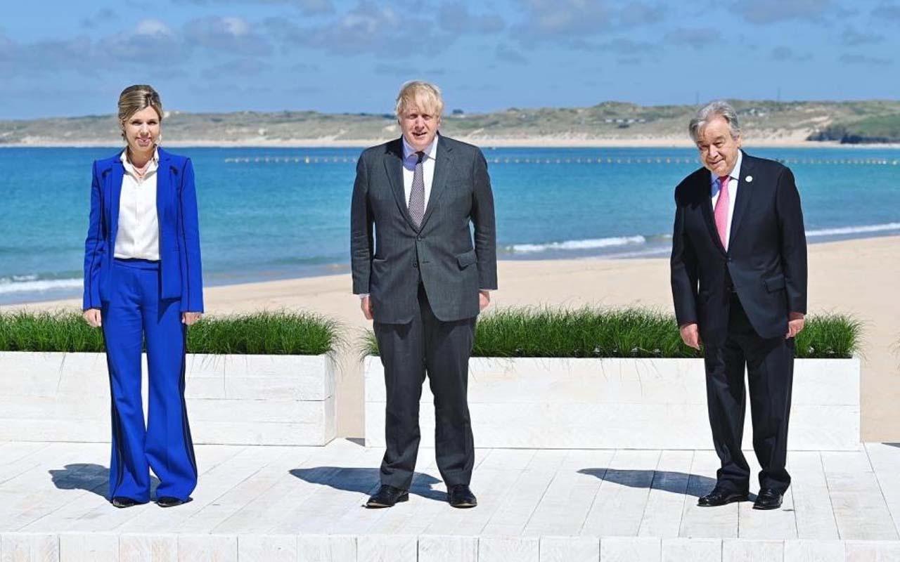 İkinci günü sona erdi! G7 Zirvesi'nden dikkat çeken kareler