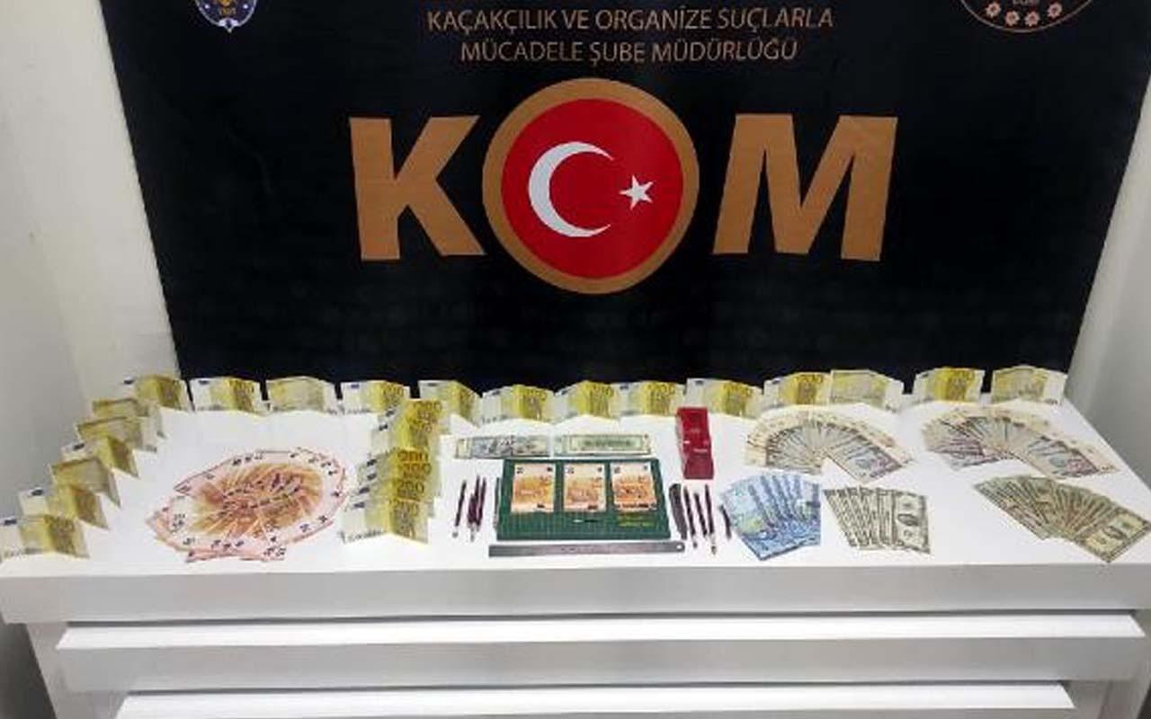 Denizli'de sahte para operasyonu! 2 kişi gözaltına alındı yöntemleri pes dedirtti