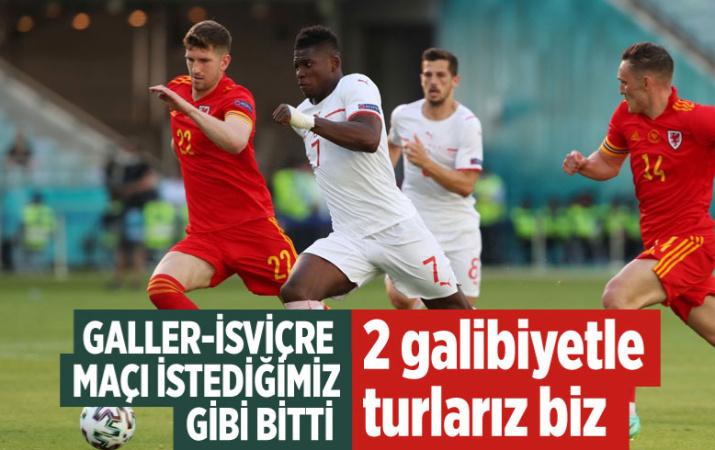 Galler ve İsviçre 1-1 berabere kaldı