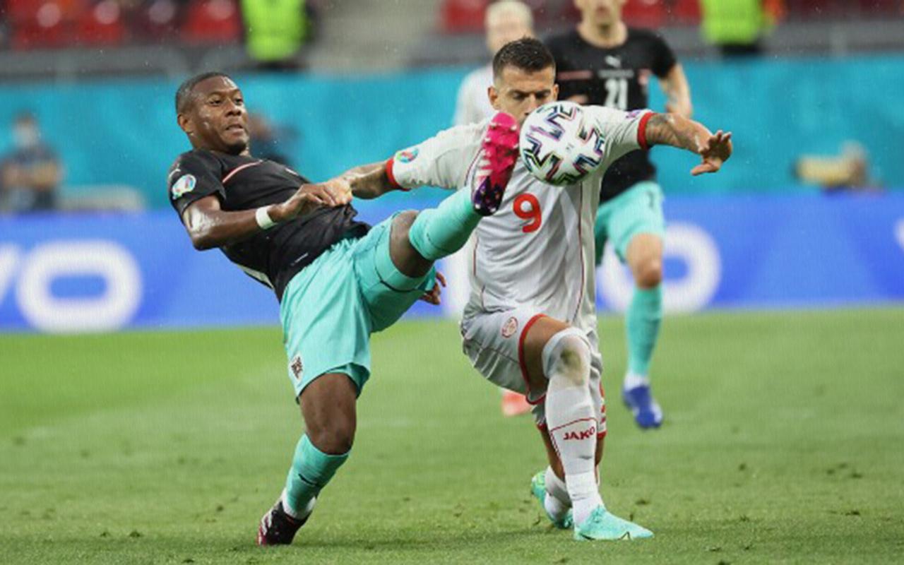 Avusturya, Kuzey Makedonya'yı 3 golle geçti