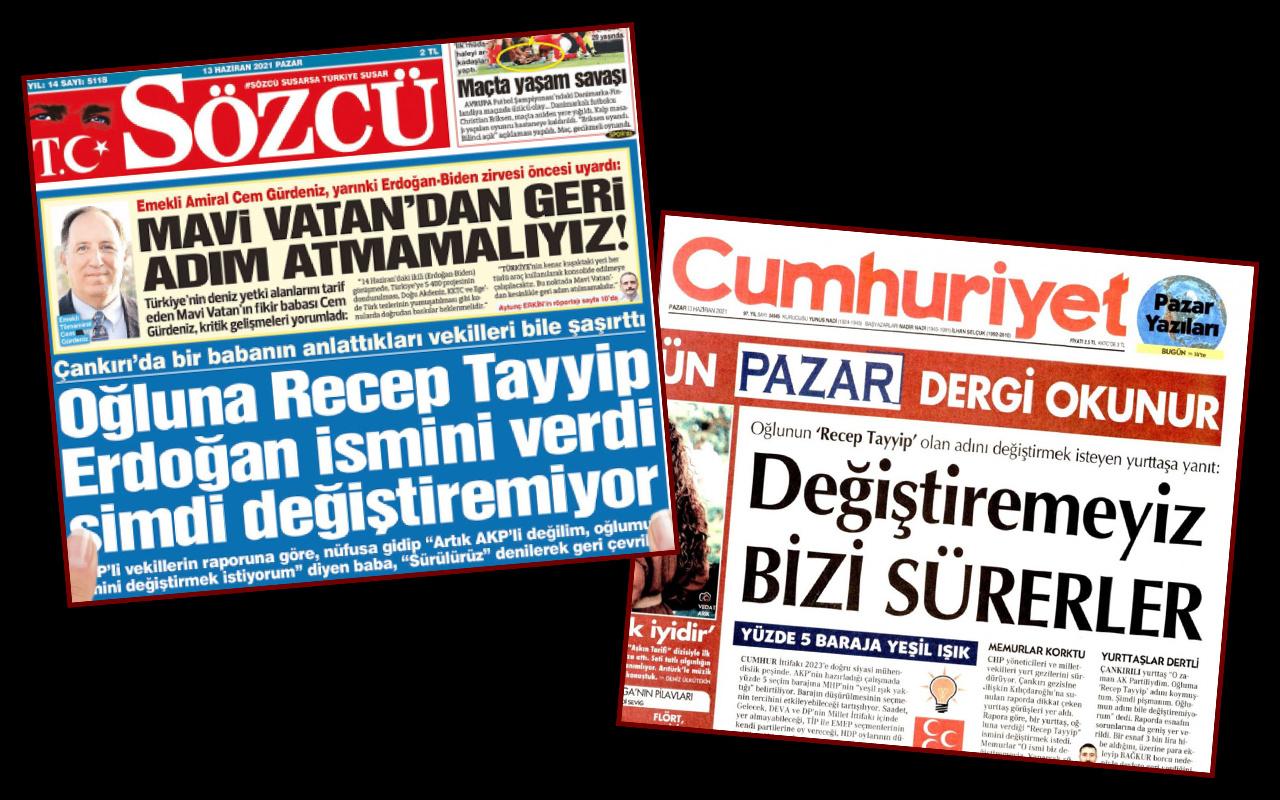 Çankırı Valiliğinden Cumhuriyet ve Sözcü gazetelerinde yer alan habere yalanlama