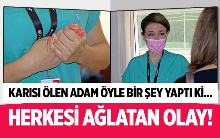 Antalya'da Covid-19 yoğun bakımında dram! Karısı ölen adam herkesi ağlattı