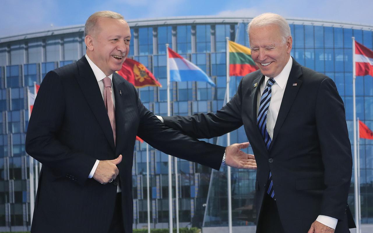 Cumhurbaşkanı Erdoğan ile Biden'den NATO Zirvesi'nde tarihi görüşme