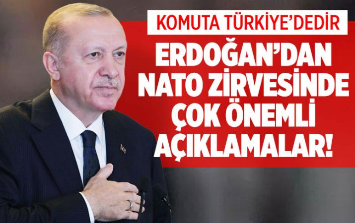 Son dakika Erdoğan'dan NATO zirvesinde önemli mesajlar